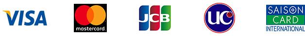 VISA MasterCard JCB UC SAISONCARD