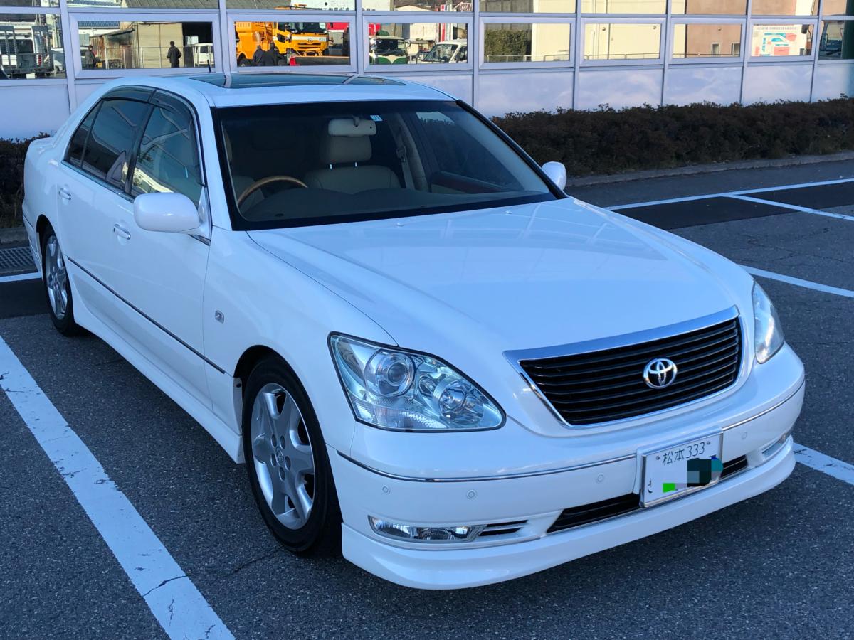 セルシオ 18年式 UCF31 県外登録納車に長野県に来ました。